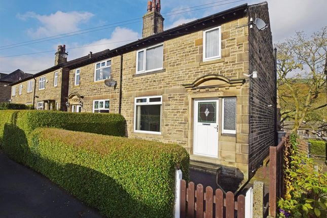 Thumbnail Semi-detached house for sale in Caldene Avenue, Mytholmroyd