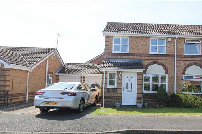 3 bed semi-detached house for sale in Brunton Way, Northburn Chase, Cramlington NE23