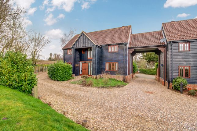 Thumbnail Detached house for sale in Friars Mead, The Street, Sturmer, Haverhill