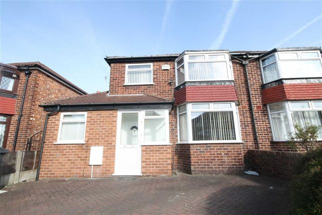 Thumbnail Semi-detached house to rent in Fairmile Drive, East Didsbury, Didsbury, Manchester