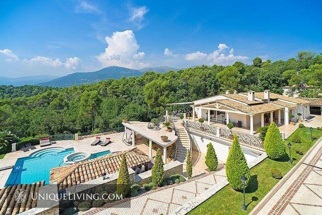 Thumbnail Villa for sale in Les Hauts De Saint Paul, St Paul De Vence, French Riviera
