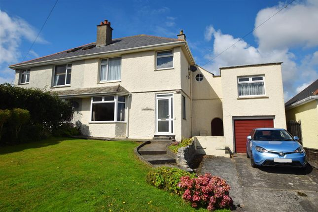 4 bed semi-detached house for sale in Kimberley Park Road, Falmouth