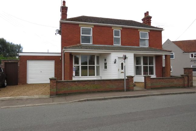 Thumbnail Detached house for sale in Manor Road, Dersingham, King's Lynn