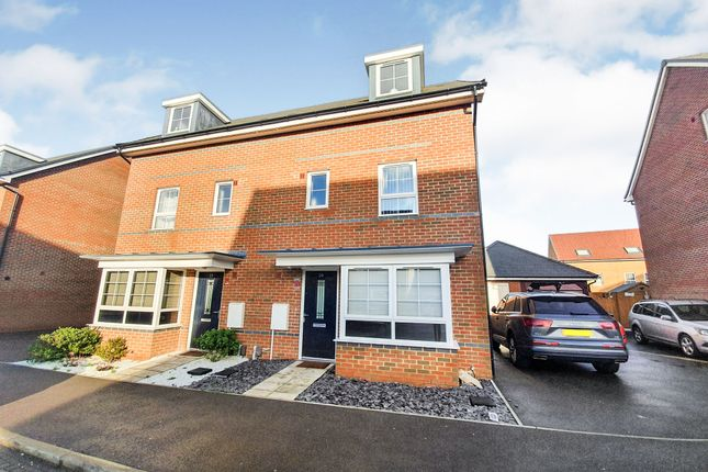 Semi-detached house for sale in Design Drive, Dunstable