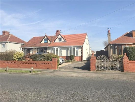 Thumbnail Bungalow for sale in Bispham Road, Blackpool