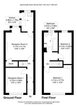 Floorplan of Monk Street, Accrington, Lancashire BB5