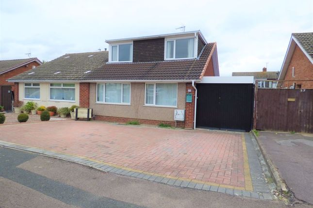 Thumbnail Semi-detached bungalow for sale in Harewood Close, Tuffley, Gloucester