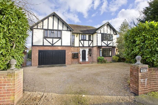 Thumbnail Detached house to rent in Kingswood Rise, Englefield Green, Egham