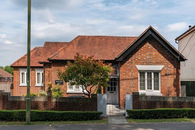 Thumbnail Detached bungalow for sale in Church Hill, West End, Southampton