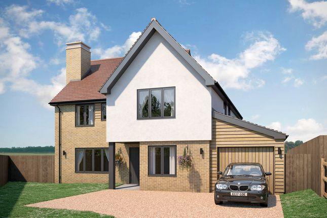 Thumbnail Detached house for sale in Plot 8, Dukes Park, Duke Street, Hintlesham, Ipswich, Suffolk.