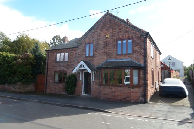 Thumbnail Detached house to rent in Main Street, Long Whatton, Loughborough, Leicestershire