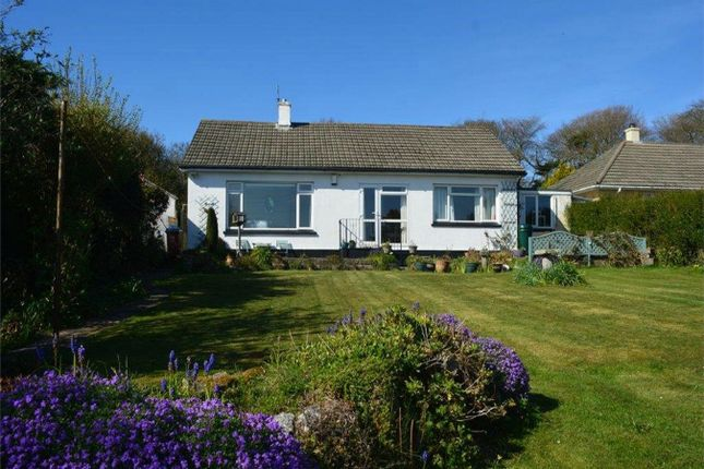 Thumbnail Detached bungalow for sale in South Tehidy, Camborne, Cornwall
