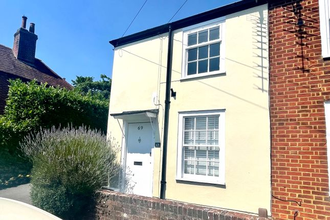 2 bed cottage to rent in West Street, Titchfield, Fareham PO14