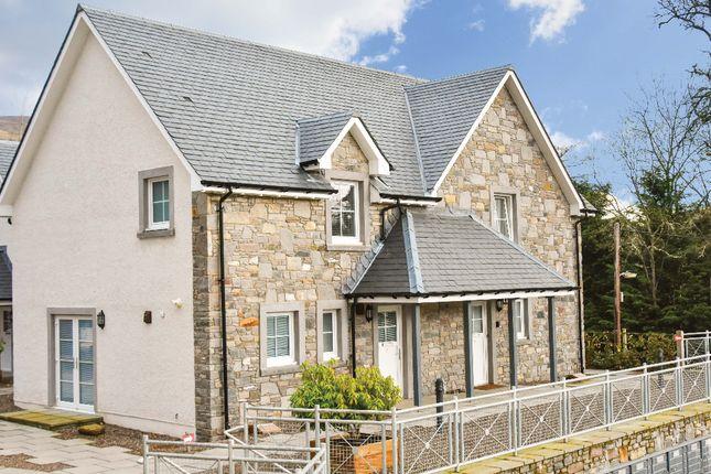 Thumbnail End terrace house for sale in Lochay Road, Killin