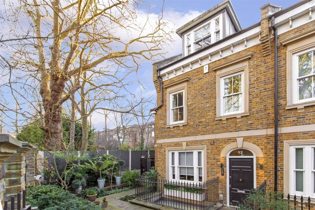 Thumbnail End terrace house for sale in Kingswood Court, Marchmont Road, Richmond, Surrey