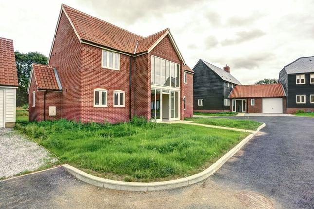 Thumbnail Detached house for sale in School View, Caston, Attleborough