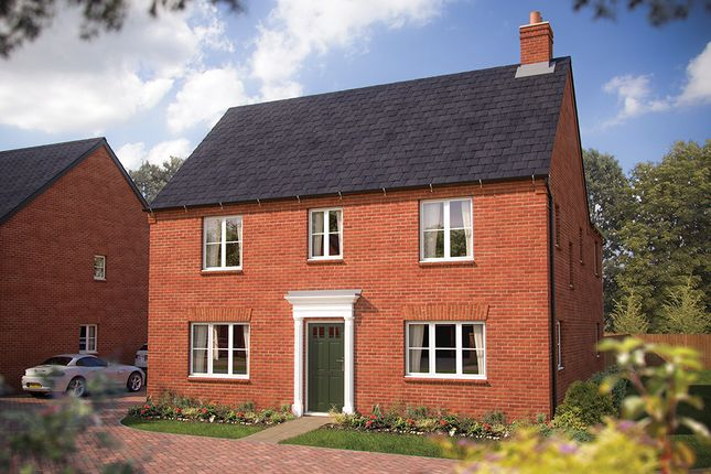 "Thumbnail Detached house for sale in ""The Luddington"" at Salford Road, Bidford-On-Avon, Alcester"
