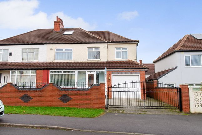 Thumbnail Semi-detached house for sale in Talbot Grove, Leeds