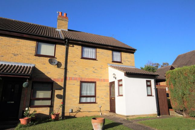 3 bed end terrace house for sale in Bidwell Close, Letchworth Garden City SG6