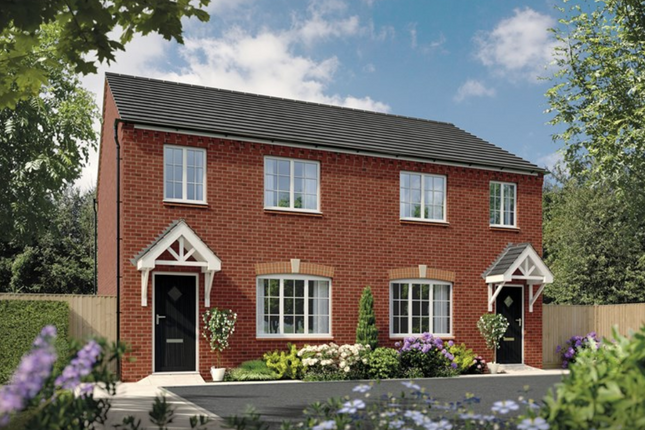 Thumbnail Semi-detached house for sale in Sheasby Park, Common Lane, Lichfield