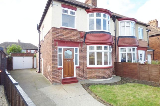 Thumbnail Semi-detached house for sale in Greylands Avenue, Norton, Stockton-On-Tees