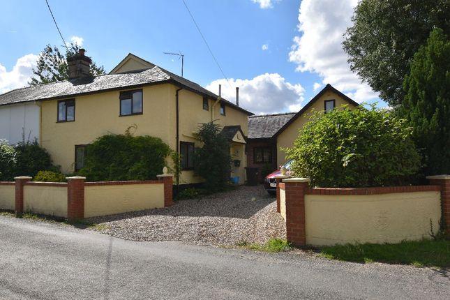 Thumbnail Semi-detached house for sale in School Road, Kedington, Haverhill