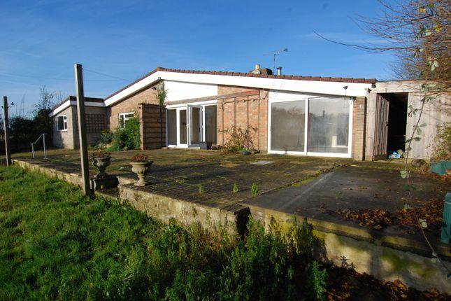 Thumbnail Detached bungalow for sale in Devizes Road, Semington, Trowbridge