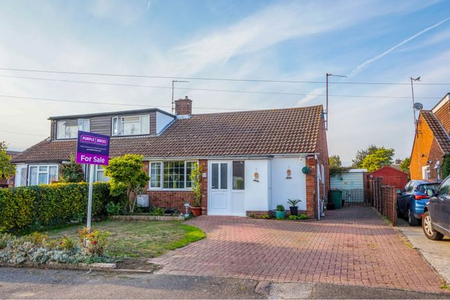 Thumbnail Semi-detached bungalow for sale in Norman Road, Barton Le Clay