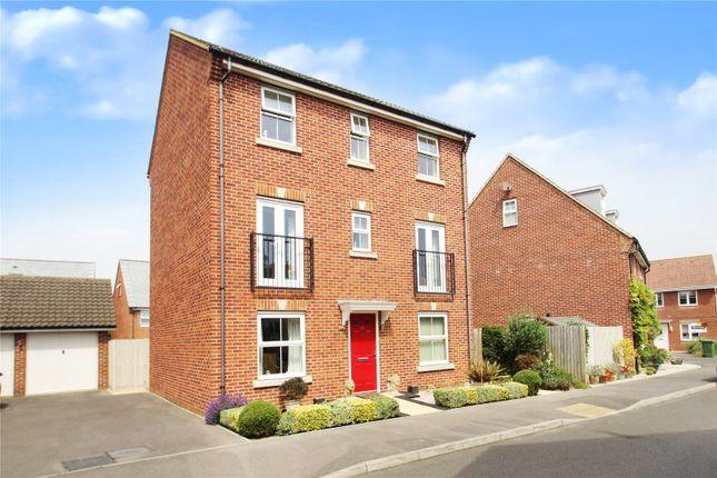 Thumbnail Detached house for sale in Hollist Chase, Wick, Littlehampton