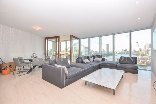 Thumbnail Flat to rent in The Tower, One St George Wharf, London