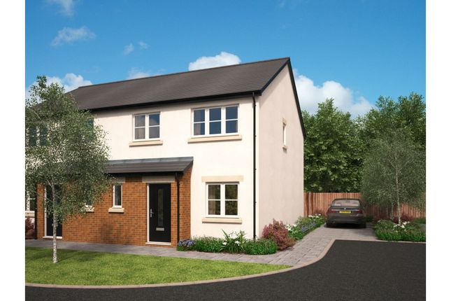 Thumbnail Semi-detached house for sale in The Green, Carnforth