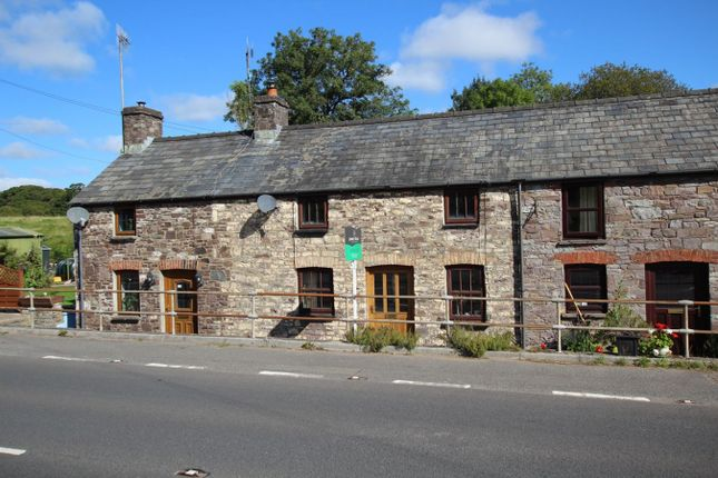 Thumbnail Terraced house for sale in Nantygwreiddyn, Brecon