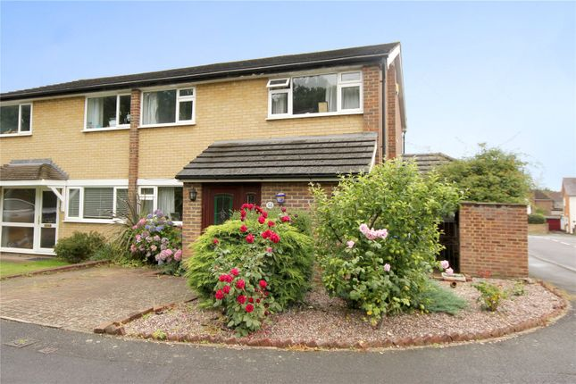 Thumbnail Semi-detached house for sale in Crofton Close, Ottershaw, Surrey