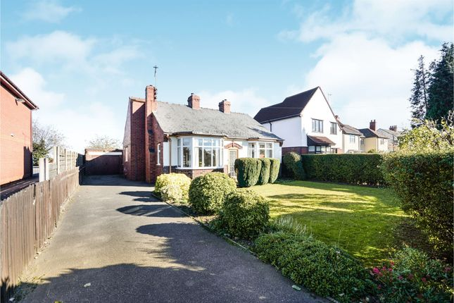 Thumbnail Detached bungalow for sale in Manor Road, Brimington, Chesterfield