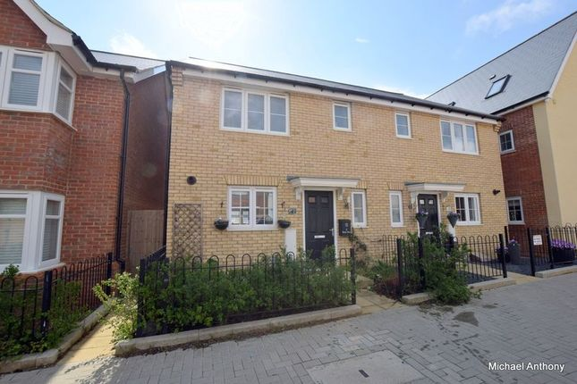 3 bedroom semi-detached house for sale in Dexter Drive, Whitehouse, Milton Keynes