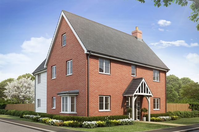 "Thumbnail Detached house for sale in ""The Copwood"" at Southminster Road, Burnham-On-Crouch"