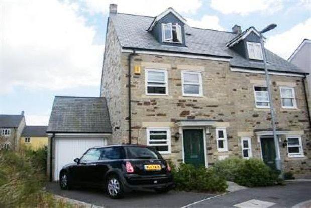 Thumbnail Semi-detached house to rent in Dartmoor View, Pilmere, Saltash
