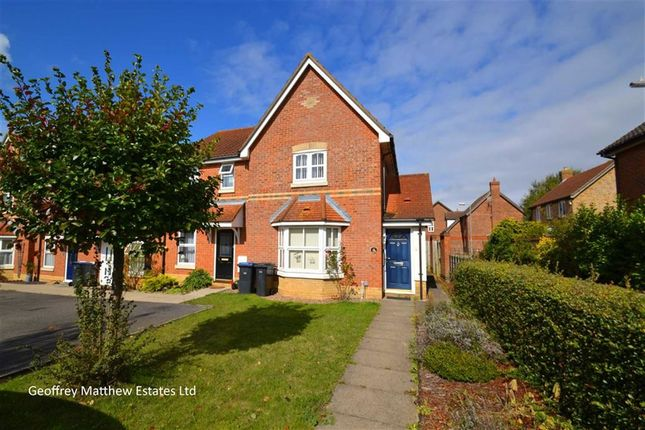 Thumbnail End terrace house for sale in Albert Gardens, Church Langley, Harlow, Essex