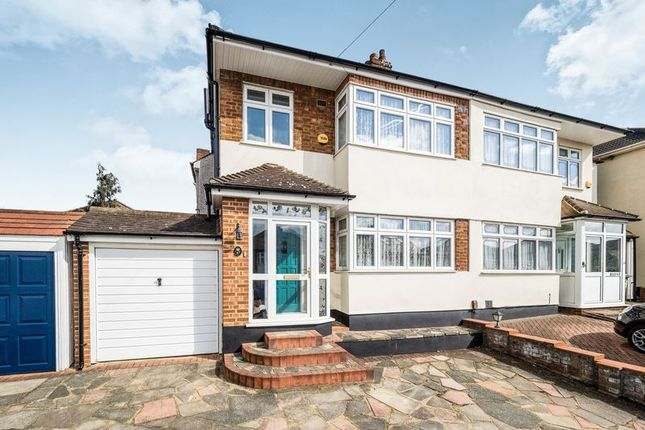 Thumbnail Semi-detached house for sale in Priests Avenue, Rise Park, Romford