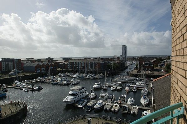 Thumbnail Property to rent in Pocketts Wharf, Maritime Quarter, Swansea