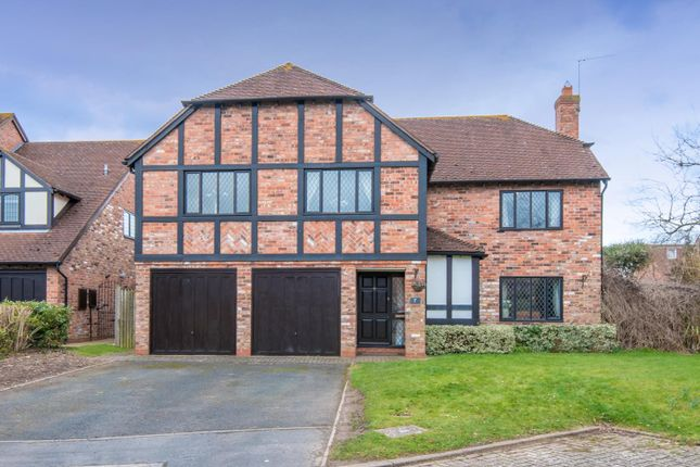 Thumbnail Detached house for sale in Pine Close, Shottery, Stratford-Upon-Avon