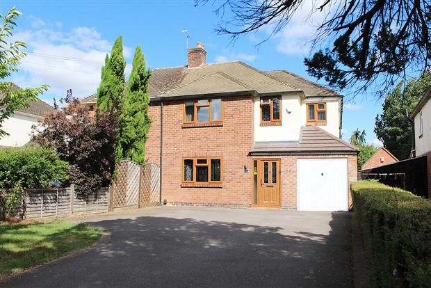 Thumbnail Semi-detached house for sale in Rouncil Lane, Kenilworth