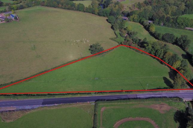 Thumbnail Land for sale in Llanidloes Road, Newtown