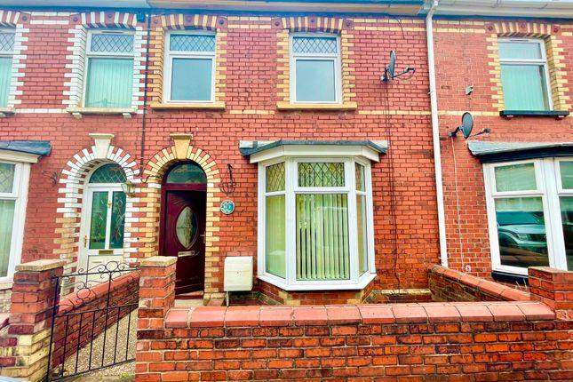 3 bed terraced house for sale in Rosser Street, Wainfelin, Pontypool NP4