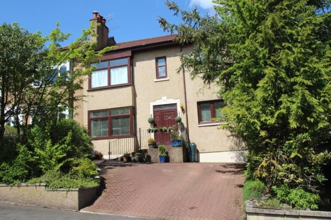 Thumbnail Semi-detached house for sale in Quarrybrae Avenue, Clarkston, East Renfrewshire