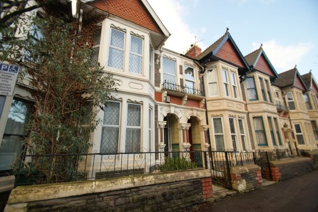 Thumbnail Terraced house to rent in Shirley Road, Roath, Cardiff