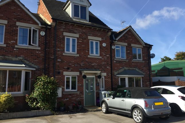 Thumbnail Town house to rent in Osberne Way, Clipstone Village, Mansfield