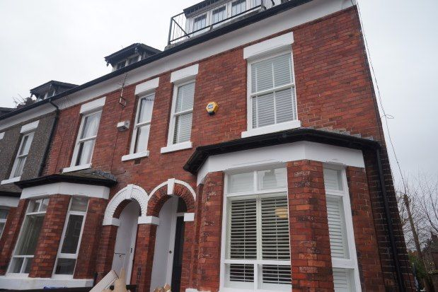 Thumbnail 4 bed property to rent in Warwick Avenue, Manchester