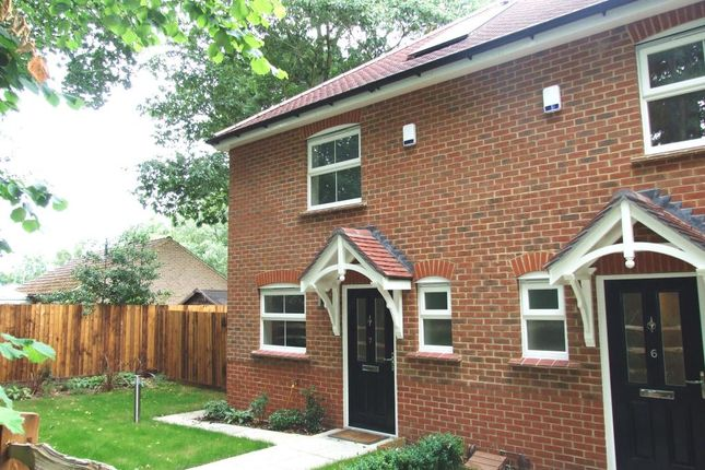 Thumbnail End terrace house to rent in California Place, Finchampstead Road, Finchampstead, Wokingham