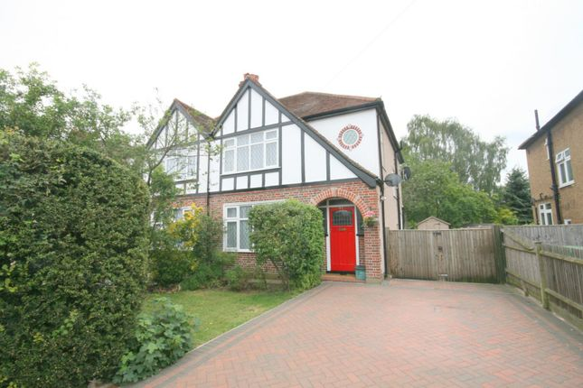 Thumbnail Semi-detached house to rent in Ruxley Lane, West Ewell, Epsom